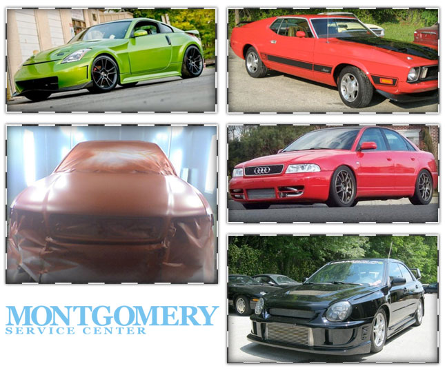 Auto Body work completed by Montgomery Service Center | Base Auto Body